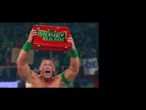 Money in the Bank 2012 John Cena, Kane, Chris Jericho, Big Show,The Miz (видео)