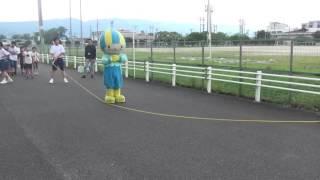 ミナモ、ロープジャンプに挑戦!!