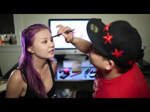 Boyfriend Does My Makeup Tag Feat. Gina Darling