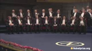 Emil Jonason plays Gershwin at the Nobel Prize Ceremony 2012