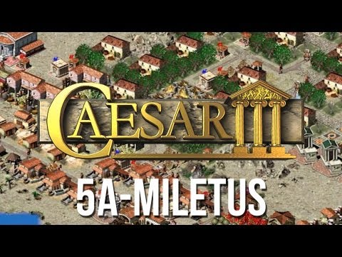 Caesar 3 - Mission 9a Caesarea Peaceful Playthrough [HD]