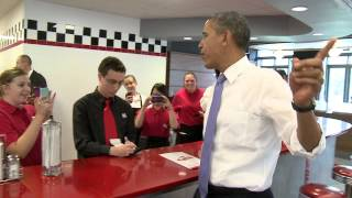 Video President Barack Obama Makes Surprise Visit MP3, 3GP, MP4, WEBM, AVI, FLV Januari 2019
