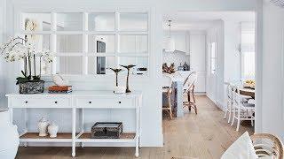 Kitchen, Dining + Lounge Reveal, Episode 2   Colour Me Hamptons Renovation   House 11