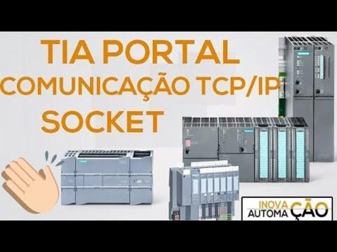 PLC Siemens Comunicação Ethernet TCP/IP