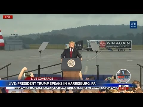WATCH: President Trump Gives SPEECH on Tax Reform in Harrisburg, PA LIVE Stream 10/11/17
