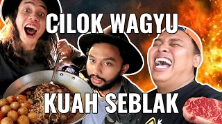 Video CILOK WAGYU BUMBU SEBLAK+RENDANG+IGA PENYET!!! MAKANAN ABSURD | GERRY GIRIANZA ft. BLACK & PANJUL MP3, 3GP, MP4, WEBM, AVI, FLV Januari 2018