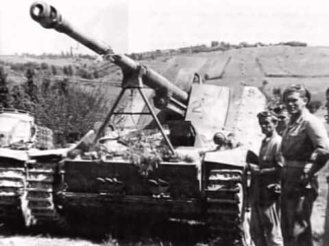 German War Files - Hummel, Mobile Artillery