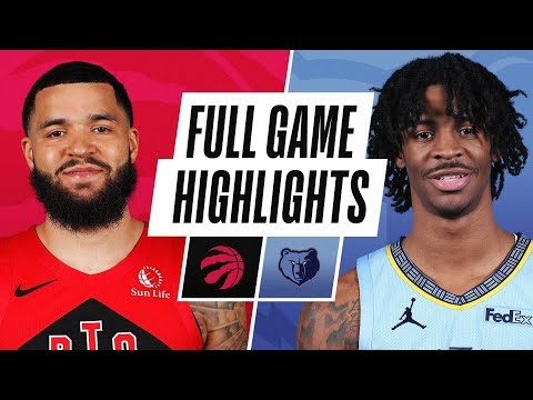 Video: RAPTORS at GRIZZLIES | FULL GAME HIGHLIGHTS | February 8, 2021