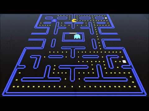 Minecraft Pac-man done in stop motion