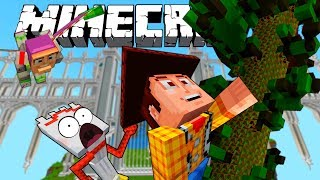 TOY STORY ADVENTURES | FORKY AND THE BEANSTALK | MINECRAFT XBOX