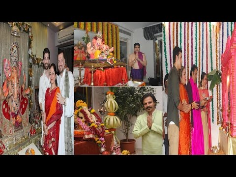 Bollywood Celebs Welcomes Ganapti Bappa