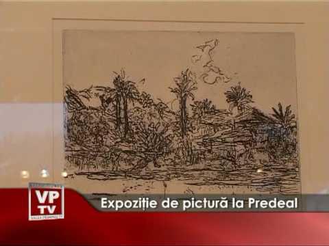 Expoziţie de pictură la Predeal
