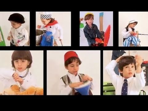 Arabische Zahlen Song. Khali, mein Onkel hat 7 Jungs. Kinder singen arabische Zahlen und zählen