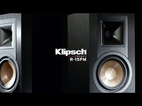 Видео Акустическая система Klipsch R-15PM