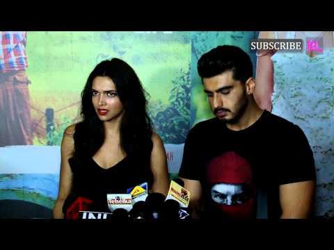 Deepika Padukone and Arjun Kapoor at Screening of