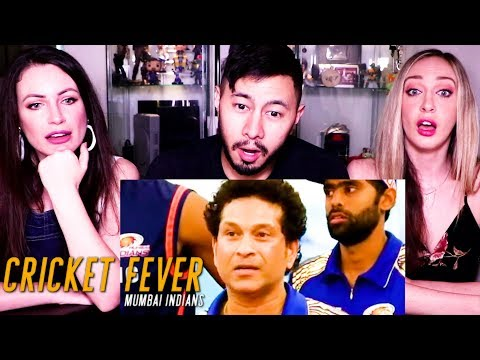 CRICKET FEVER: MUMBAI INDIANS |  Netflix India | Trailer Reaction!