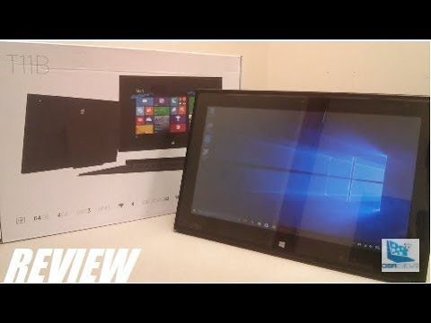 REVIEW: Intel T11B Windows 2-in-1 Tablet (4GB RAM/64GB SSD)