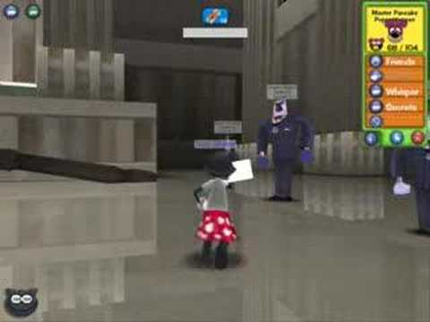 Toontown CJ (Chief Justice) Battle - 8 cogs