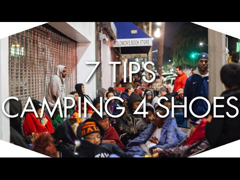 7 TIPS FOR CAMPING FOR SHOES! - SNEAKER TALK