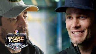 Tom Brady, Aaron Rodgers weigh in on Jordan-LeBron debate I NFL I NBC Sports