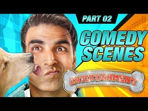 Entertainment Comedy Scenes  Akshay Kumar, Tamannaah Bhatia, Johnny Lever  Part 2