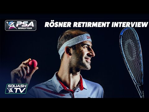 Squash: Simon Rösner Interview - Retiring from the PSA World Tour