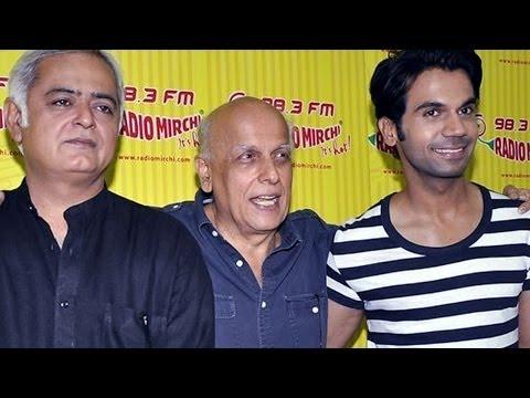SPOTTED: Rajkummar Rao & Mahesh Bhatt At Radio Mir