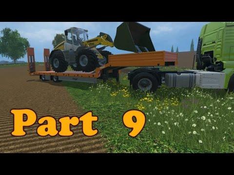 Farming Simulator 2015 Gameplay Walkthrough Playthrough Part 9: It's A-Maizing (PC)