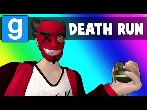Gmod Deathrun Funny Moments - Impossible Rainbow Map(Garry's Mod) (видео)