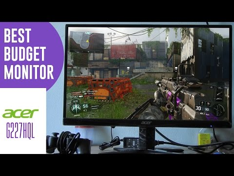 Acer G227HQL Monitor Unboxing and Review [Best Budget Gaming Screen 2016]