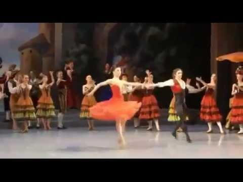 Natalia Osipova and Ivan Vasiliev - Don Quixote Act 1 Excerpts (2012)