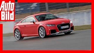 Audi TT RS (2016) - Erste Fahrbilder Review/Fahrbericht/ Test by Auto Bild