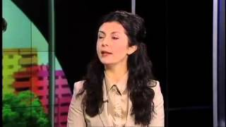 Lina Rozbih's interview with PNN about Afghanistan Election 2014