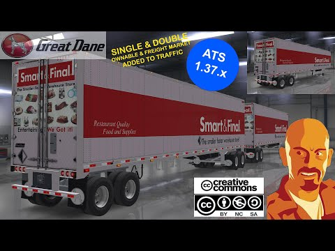 Great Dane Trailers Single & Doubles Ownables 1.35.x & Dx11