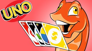 TRYING to play Uno with Fishy by SkulShurtugalTCG