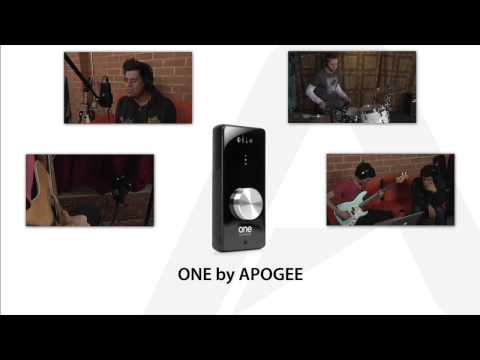 Recording a song with GarageBand and Apogee ONE
