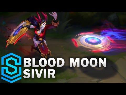 Sivir Huyết Nguyệt - Blood Moon Sivir
