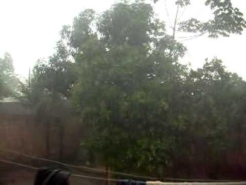 Chuva em Amarante do Maranhão