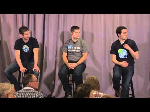 Atlassian Summit 2013: Panel: Adopting Git in the Enterprise
