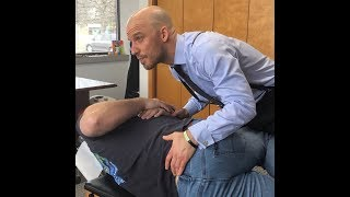 Video EXTREME PAIN ~ Chiropractor Goes Into Savage Mode on Spine. MP3, 3GP, MP4, WEBM, AVI, FLV Mei 2019