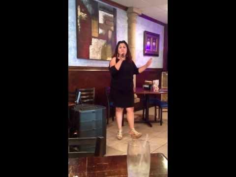 My friend singing Jenni Rivera