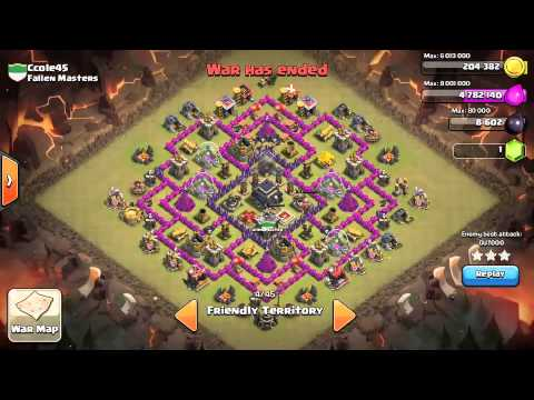 Awesome TH9 Trophy Base (Anti-GoWiPe) Hats off to who Made it (Not my own design)