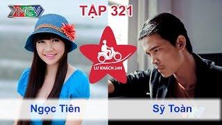 LỮ KHÁCH 24h - Tập 321 | Ngọc Tiên - Sỹ Toàn chia tay nhau đi ngủ bụi tại Trà Vinh | 15/05/2016