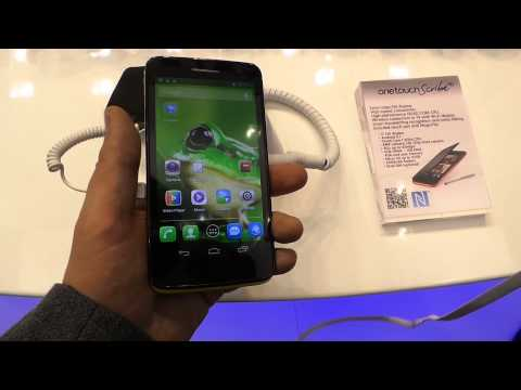 Alcatel One Touch Scribe - hands-on