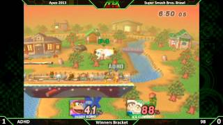 Underrated match, ft. 9B's SoPo. Apex 2013 (more inside).