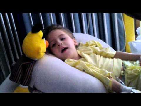 Hannah at st christophers hospital for children