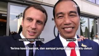 Video Vlog Terbaru Presiden Jokowi Bersama Presiden Emmanuel Macron - NET16 MP3, 3GP, MP4, WEBM, AVI, FLV Juni 2019