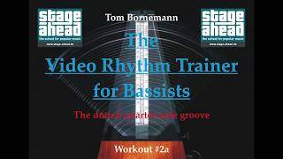 http://four-strings-basslessons.blogspot.de/A video rhythm trainer for bass players!