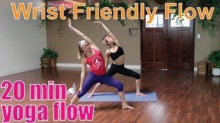 Video 20 Minute Yoga Class - Wrist Friendly Flow MP3, 3GP, MP4, WEBM, AVI, FLV Maret 2018