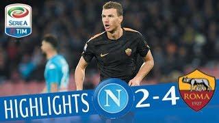 Video Napoli - Roma 2-4 - Highlights - Giornata 27 - Serie A TIM 2017/18 MP3, 3GP, MP4, WEBM, AVI, FLV Agustus 2018